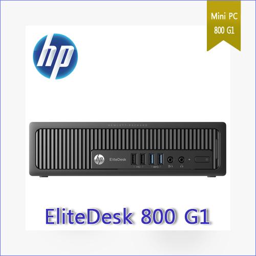 중고] HP EliteDesk 800 G1 Ultra-slim Desktop PC i5-4570s 4GB